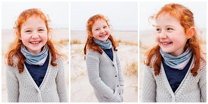 Wintershooting am Strand