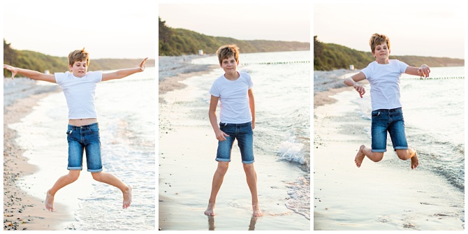 Familienshooting am Strand